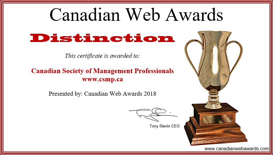 canadian web awards awards store